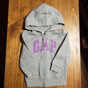 Gap 2T hoodie.